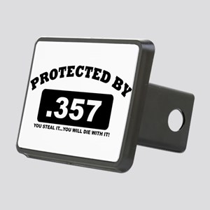 property of protected by 357 b Hitch Cover