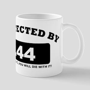 property of protected by 44 b Mug