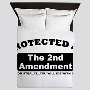 property of protected by 2nd amendment b Queen Duv