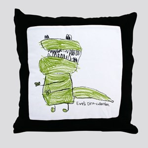 T-Rex Throw Pillow