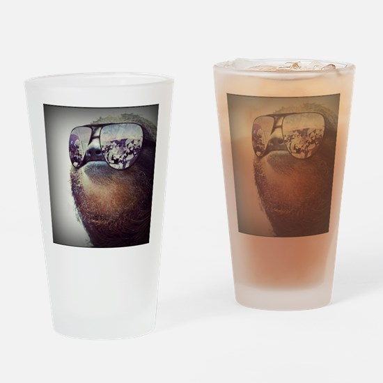 Sloths Drinking Glass