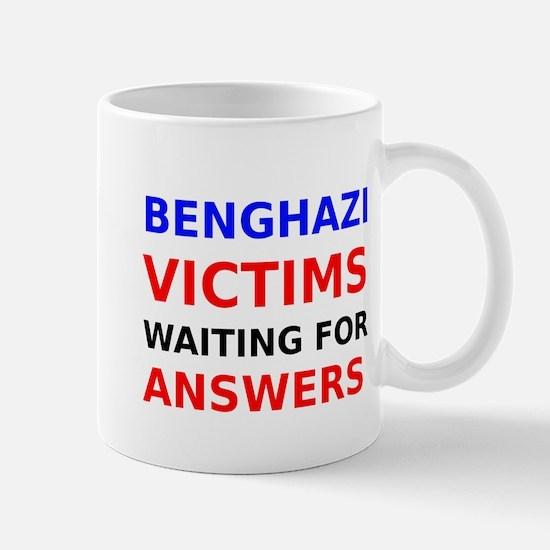 Benghazi Victims waiting for Answers Mug