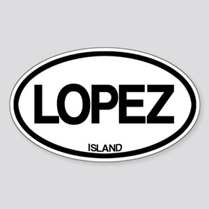 Lopez Island Sticker