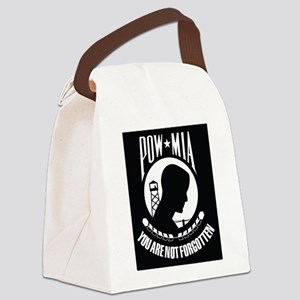 POW MIA Canvas Lunch Bag