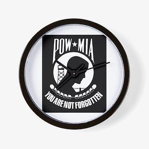POW MIA Wall Clock