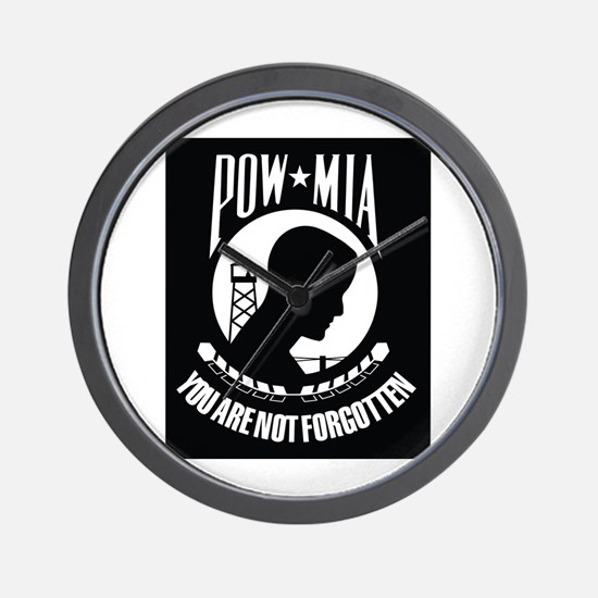 POW MIA Wall Clock