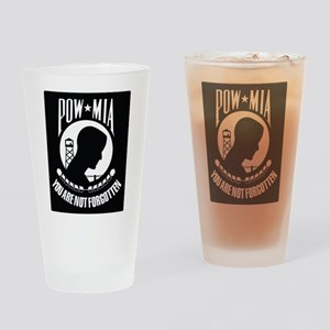 POW MIA Drinking Glass