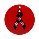 Pirate Awareness Support Ribbon Ornament