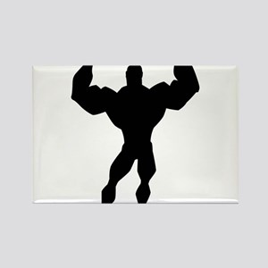Strong Guy Rectangle Magnet
