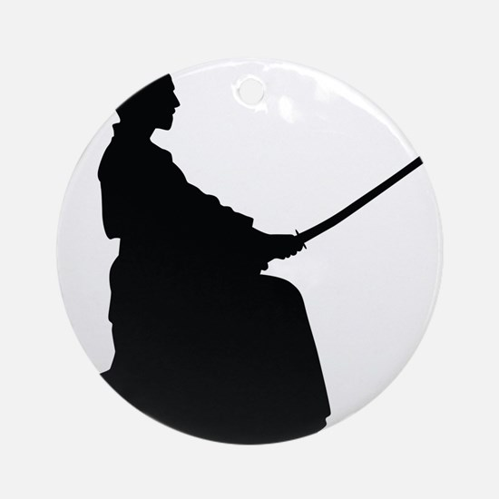 Samurai Ornament (Round)