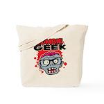 Zombie Geek Tote Bag