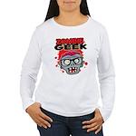 Zombie Geek Long Sleeve T-Shirt
