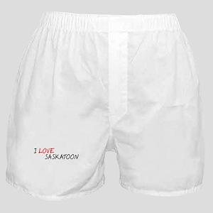 I Love Saskatoon Boxer Shorts