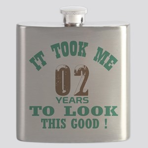 It took me 02 years to look this good ! Flask