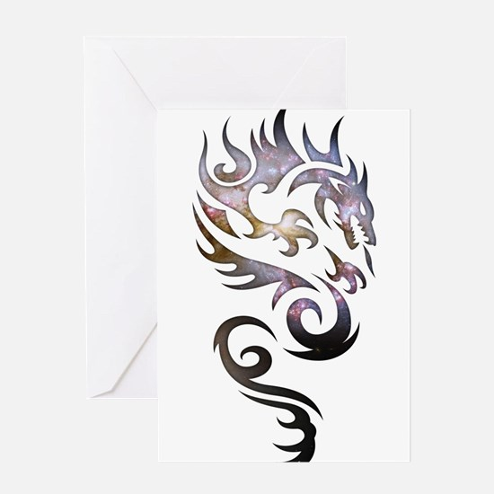 Tribal Dragon Greeting Card