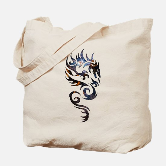 Tribal Dragon Tote Bag