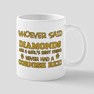 Cornish Rex cat mommy designs Mug
