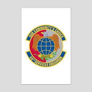 60th Services Squadron Mini Poster Print