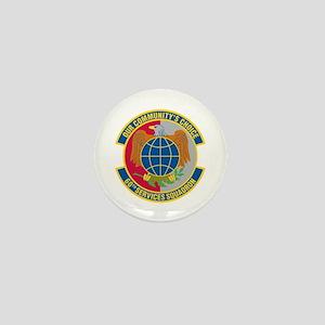 60th Services Squadron Mini Button