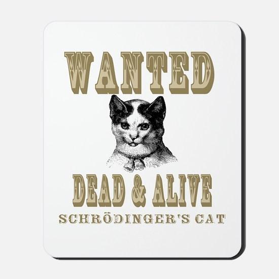 Schrodingers Cat Mousepad