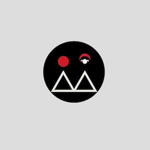 Twin Peaks Briggs Symbol Mini Button