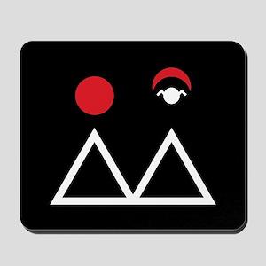 Twin Peaks Briggs Symbol Mousepad