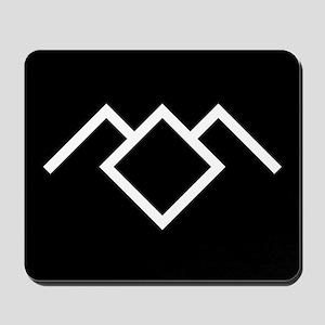Twin Peaks Owl Cave Symbol Mousepad