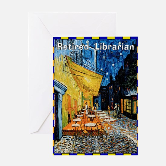 retired librarian VG Greeting Card