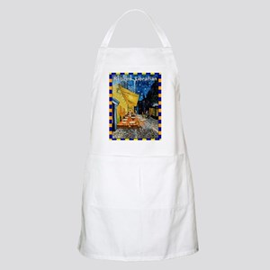 retired librarian VG Apron