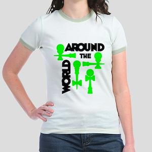 Around the World Jr. Ringer T-Shirt
