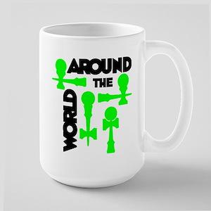 Around the World Large Mug