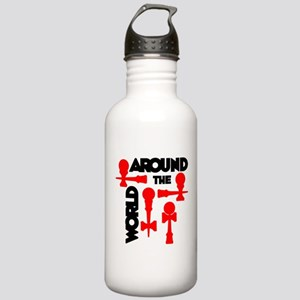 Around the World Stainless Water Bottle 1.0L