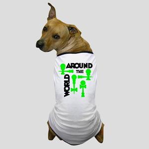Around the World Dog T-Shirt
