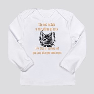 Affairs of Cats Long Sleeve Infant T-Shirt