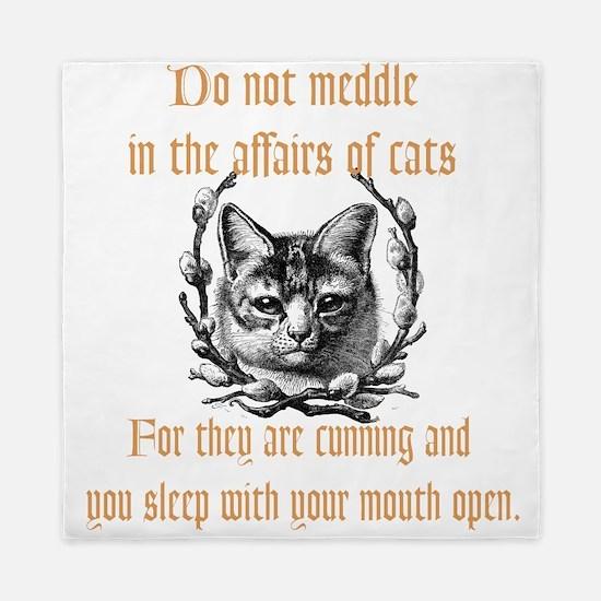 Affairs of Cats Queen Duvet