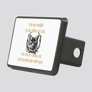 Affairs of Cats Rectangular Hitch Cover