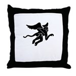 Flyin' Monkeys! Throw Pillow