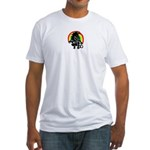 Were-Unicorn! Fitted T-Shirt