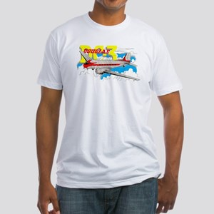 DOUGLAS DC-3 Fitted T-Shirt