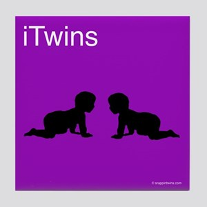 iTwins Tile Coaster