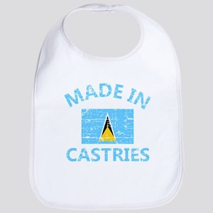 Made in Castries Baby Bib