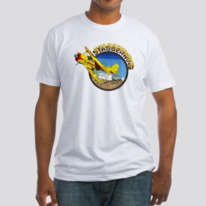 BEECH STAGGERWING Fitted T-Shirt