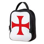 Knights Templar Neoprene Lunch Bag