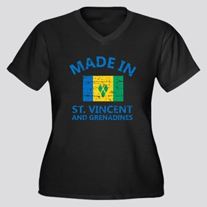 Made in St Vincent and Grenadine Plus Size T-Shirt