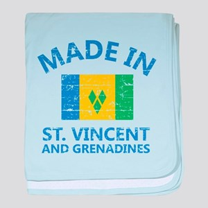Made in St Vincent and Grenadines baby blanket