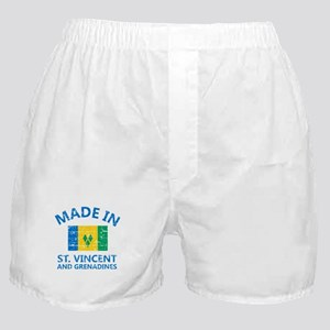 Made in St Vincent and Grenadines Boxer Shorts