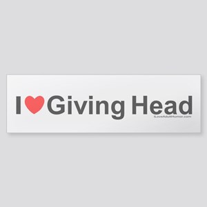 Giving Head Sticker (Bumper)