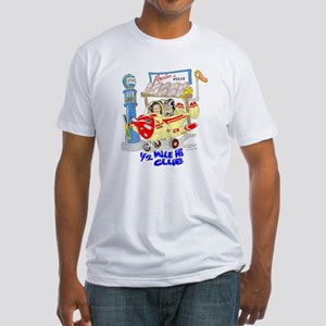 1/2 MILE-HI CLUB Fitted T-Shirt