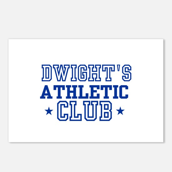 Dwight Postcards (Package of 8)
