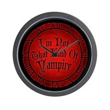 im-not-that-kind-of-vampire_cl Wall Clock